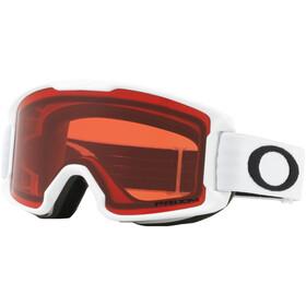 Oakley Line Miner Snow Goggles Ungdom matte white/prizm snow rose